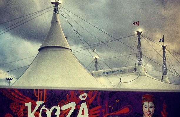 El circo del sol – Instagram