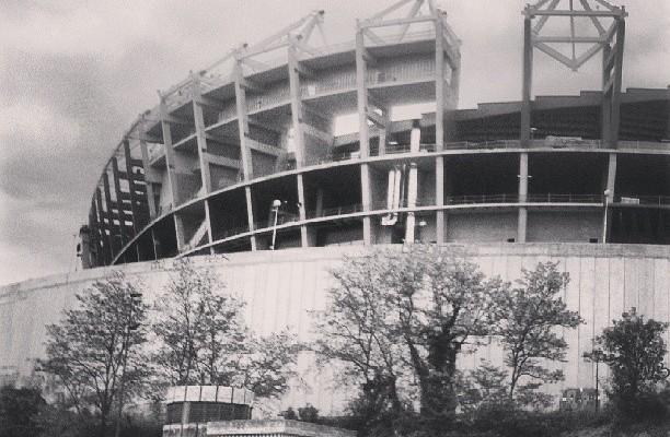 Sanmames Barria eraikitzen #bilbao #arquitectura – Instagram
