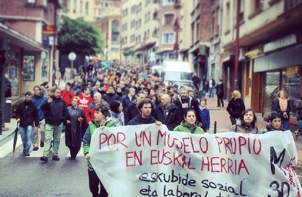 Eskubide sozialen alde Greba orokorra #huelgageneral #m30 – Instagram