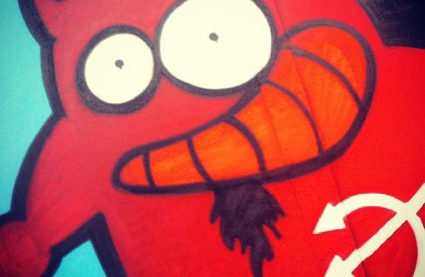@barakatxosnak batzordearen deabrutxoa #barakaldokojaiak #graffiti – Instagram