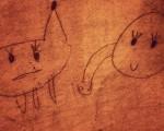 Paretan egindako beste obra bat #marrazki #artstreet #wall #kalea #cobi #gallifante #dibujo #artecallejero – Instagram