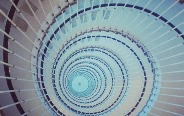 Escaleras al cielo #Gurutzeta #Barakaldo #HopitalCruces #espiral #zerua #eskailerak #cielo #escaleras – Instagram