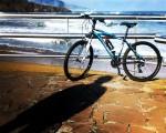 Itzalak ura ukitu nahian #Playa #LaArena #hondartza #AbantoZierbena #Muskiz #Bizkaia #beach #mar #itsasoa #sea #bici #txirringa #bicivoladores #bizihegalariak #itzala #sombra #elTruenoAzul – Instagram