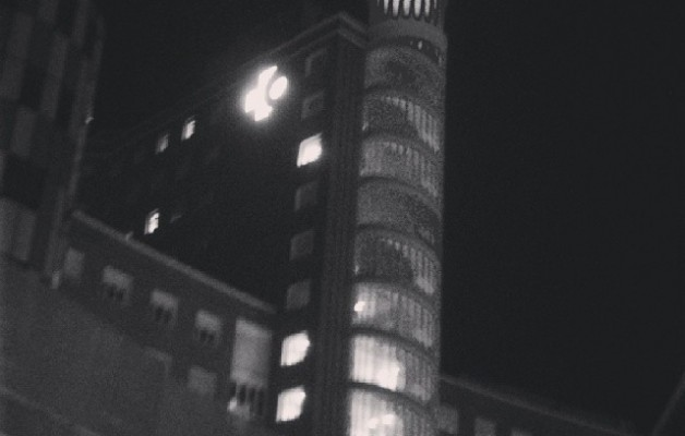 Euskal Pisa dorrea #Gurutzeta #HopitalCruces #TorredePisa #zuribeltza #blackandwhite #blancoynegro – Instagram