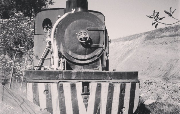Esperando días de hierro y esplendor #locomotora #61#tren #train #trena #ferrocarril #SestaoGaldames #lurrunmakina #ikatza #vapor #carbón #antiguo #AHV #LaPunta #Sestao #Barakaldo #blancoynegro #zuribeltz #black&white #railway #locomotive #old – Instagram