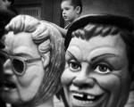 #cabecitas y #cabezudos #BarakaldokoJaiak #FiestasdeBarakaldo #buruhandiak #barakaldo #igerseuskadi #blackandwhite #blancoynegro #zuribeltza #niño #umea #cabezas #buruak #head – Instagram