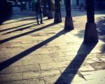 Goizeko itzalak #sombras #amanecer #itzalak #SanBizente #SanVicente #Barakaldo #eliza #aterpe #pórtico #iglesia – Instagram