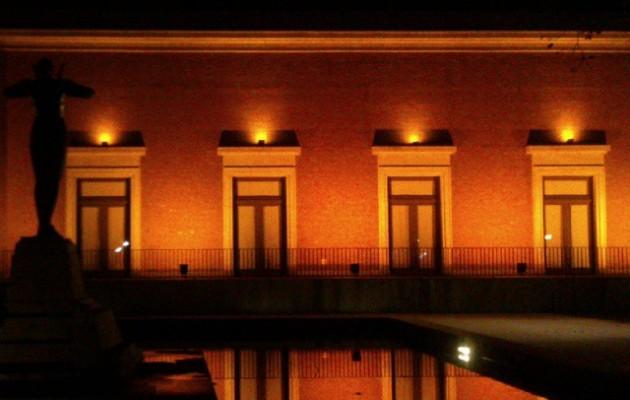 Gaueko ispilua #ArteEderretakoMuseoa #MuseodeBellasArtes #Bilbao #Bilbo #reflejos #agua #ura #ispilua #espejo #gaua #noche #luces #argiak #exposición #figbilbao #erakusketa – Instagram