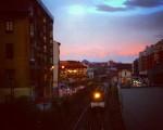 Egun on! #Tren #trena #train #renfe #zerua #cielo #sky #Barakaldo #DesertuBerria #amanecer #egunsentia #dawn – Instagram