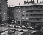 Elur malutak #Sanbizente #SanVicente #Barakaldo #elurra #nieve #malutak #copos #zuribeltza #BN #blancoynegro #blackandwhite #escaladegrises #edificio #casas #etxeak #autoak #coches #parque #parkea – Instagram