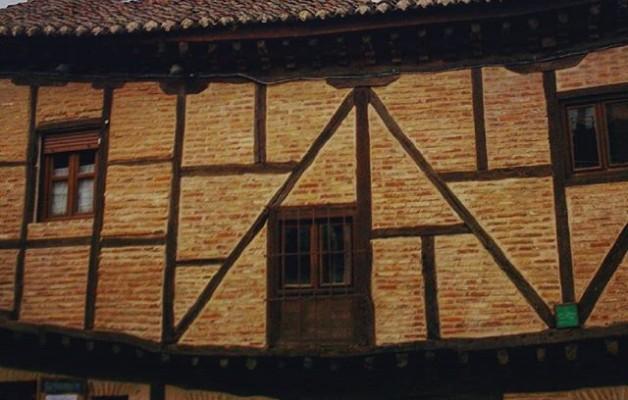 #Casas que cobran #vida #cara #sonrisa #casasconencanto #Saldaña #Palencia – Instagram