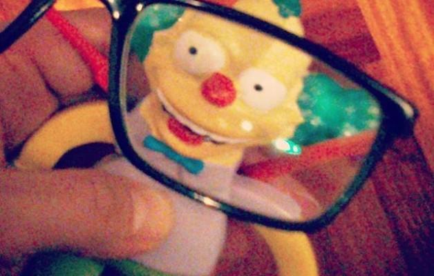 #Krusty vuelve a la carga! Te está vigilando @edu_msm – Instagram