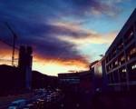 #Atardecer #torre #Bolueta #peñascal #Bilbao @igersbilbao @y igerseuskadi #cielo #reflejos #arquitectura #edificio – Instagram