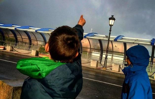 #ortzadarra #arcoiris #rainbow #Barakaldo #umeak #Gurutzeta @igerseuskadi @igersbilbao @instagram – Instagram