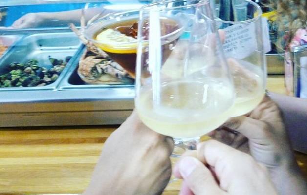 #Brindis en #familiaFamiliarteko brindisa #laredo – Instagram
