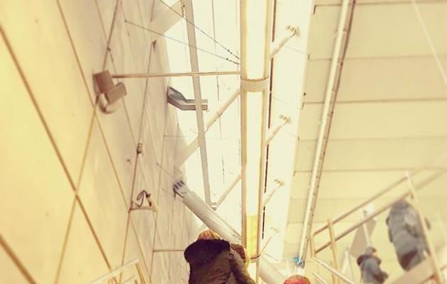 #amareneskuetatikheldutaedonora #konfidantza #segurtasuna #maitasuna @metro_bilbao #ansio @igerseuskadi @igerrak @igersbilbao #streetphotography – Instagram