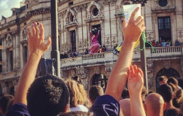 Has dadila #festa #marijaia #40urte #1978 @igerseuskadi @igerrak @igersbilbao #astenagusia2018 #jaia #bilbo – Instagram