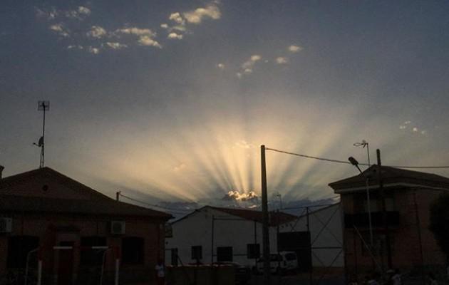 #Atardecer en #Mamblas #Avila #castillayleon #cielo #sol #nubes @igers @igersavila @instagrames – Instagram